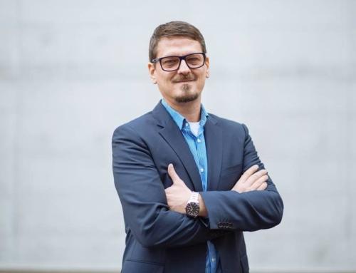 Mika Gustavson als Speaker auf dem Unternehmer Weekend