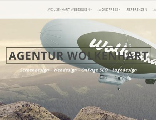 Wolkenhart sponsert Webseite im Wert von ca. 20.000 Euro