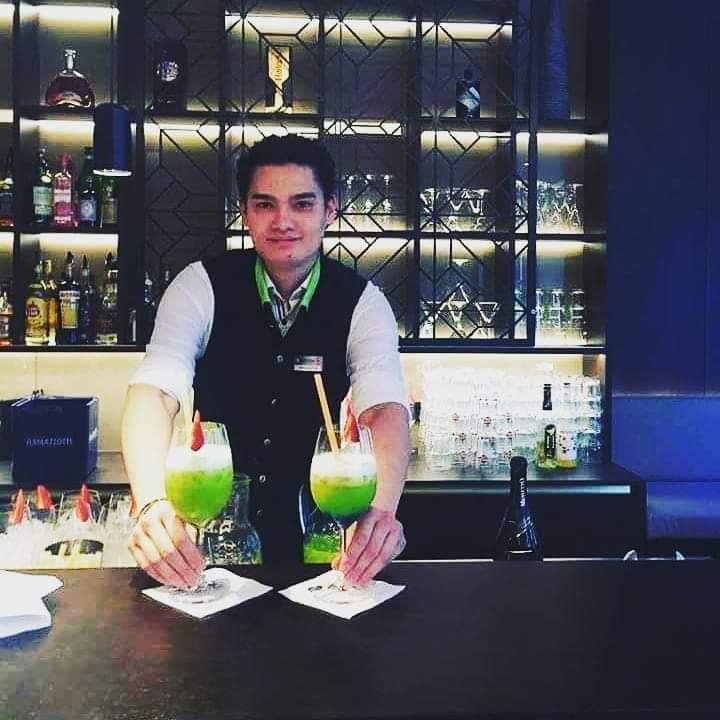 Barkeeper Nelson Hayoz Sol