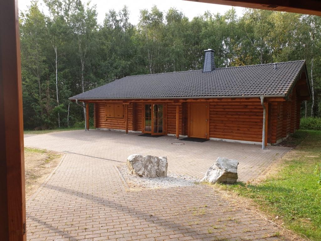 Grillhütte Argenthal von der Feuerstelle aus