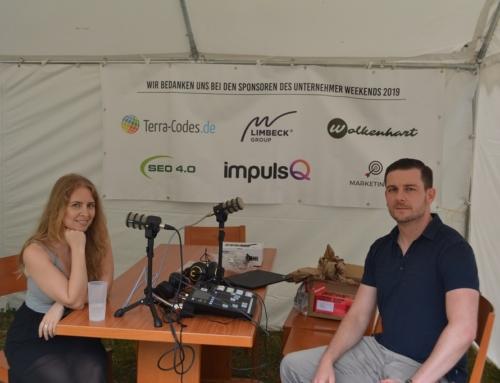Business Fight Podcast Produktion auf dem Unternehmer Weekend
